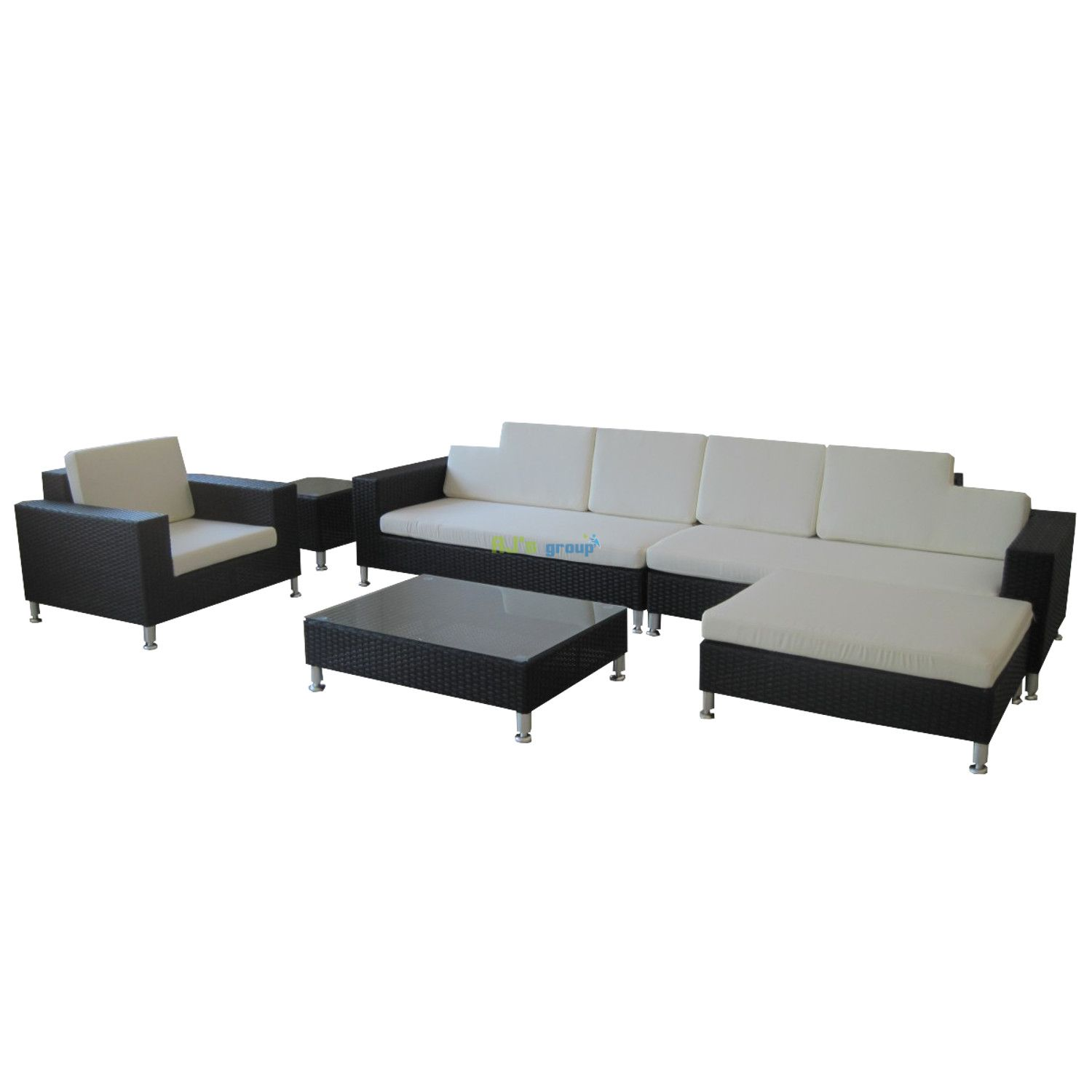 rattan wicker garden patio set alabama outdoor lounge furniture couch. Black Bedroom Furniture Sets. Home Design Ideas