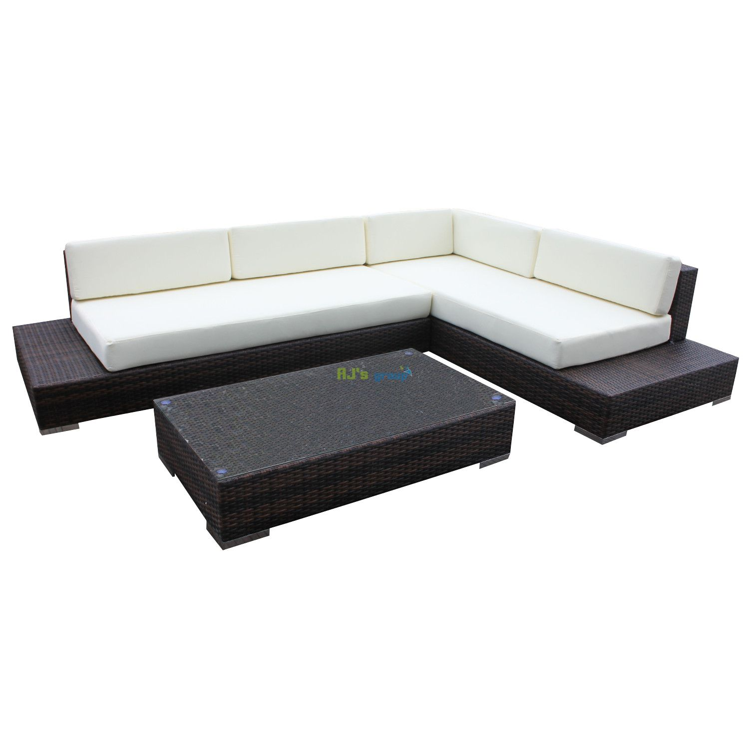 rattan wicker garden patio set atlanta outdoor lounge furniture couch. Black Bedroom Furniture Sets. Home Design Ideas
