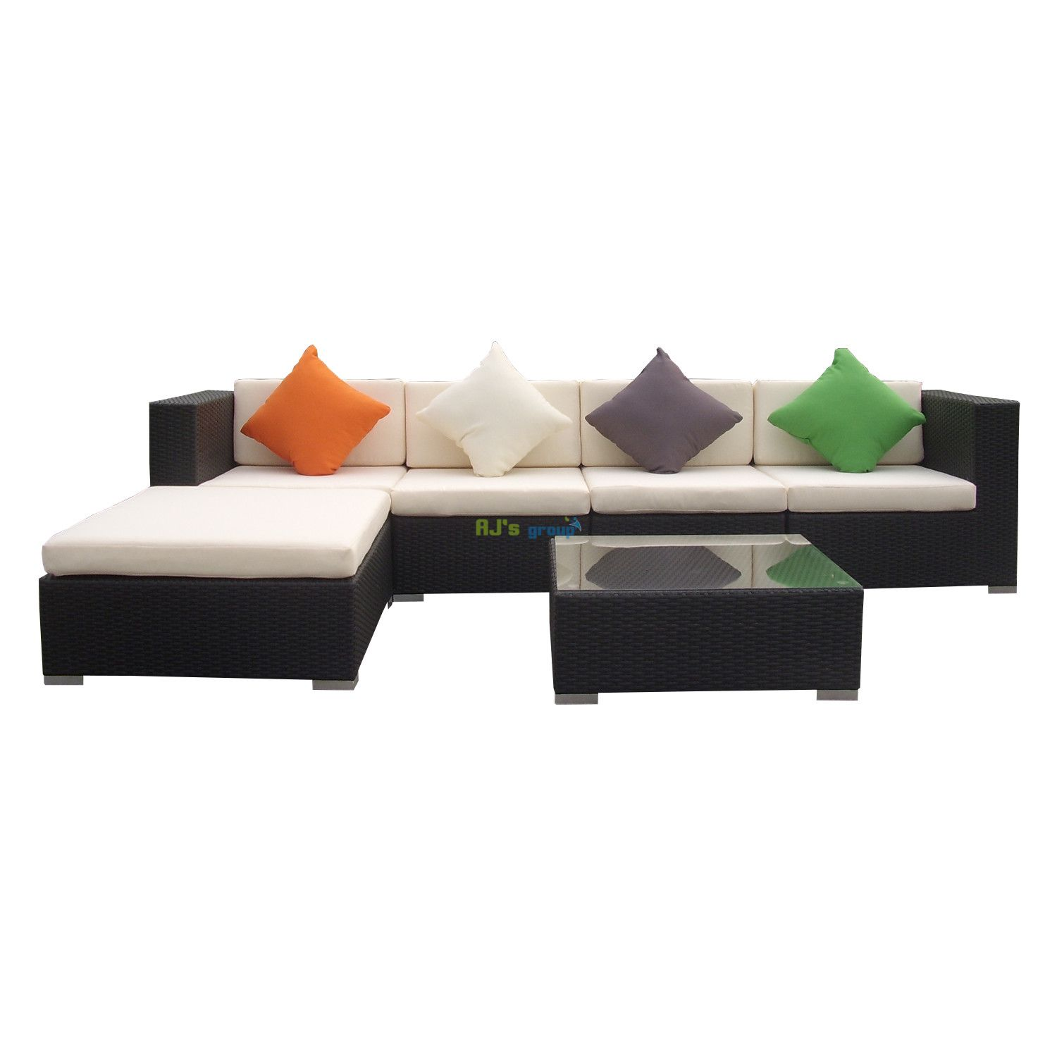 Gartenmobel Rattan Lounge Set