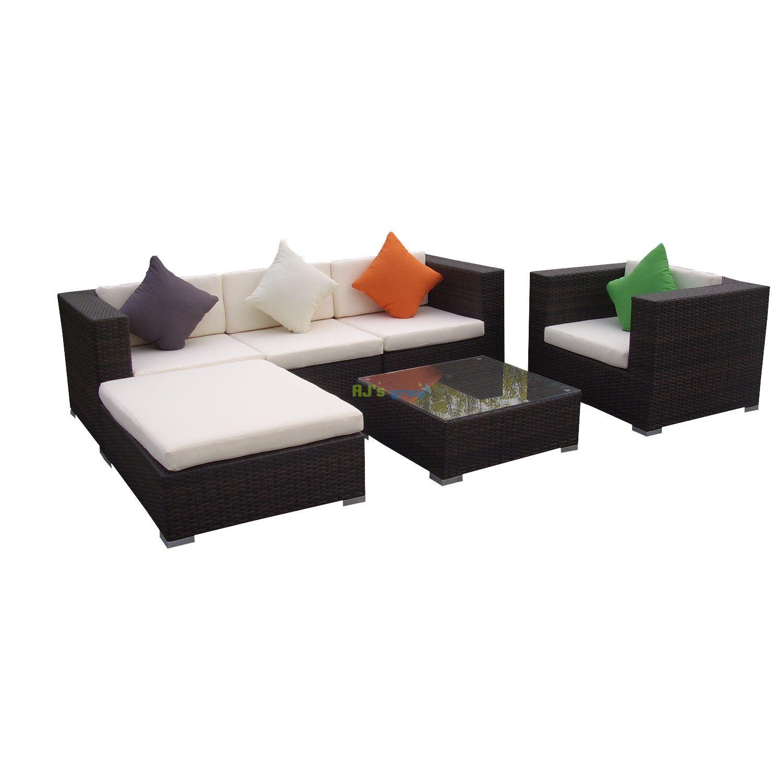 rattan gartenm bel lounge sitzgruppe sonnenschirm pictures. Black Bedroom Furniture Sets. Home Design Ideas