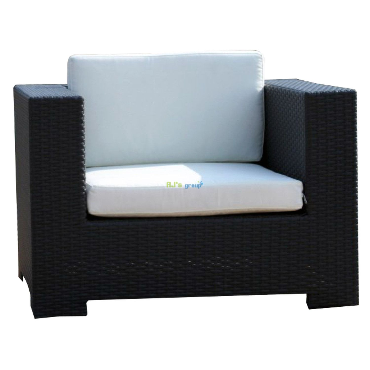 poly rattan gartenm bel georgia alu garnitur lounge garten sitzg. Black Bedroom Furniture Sets. Home Design Ideas