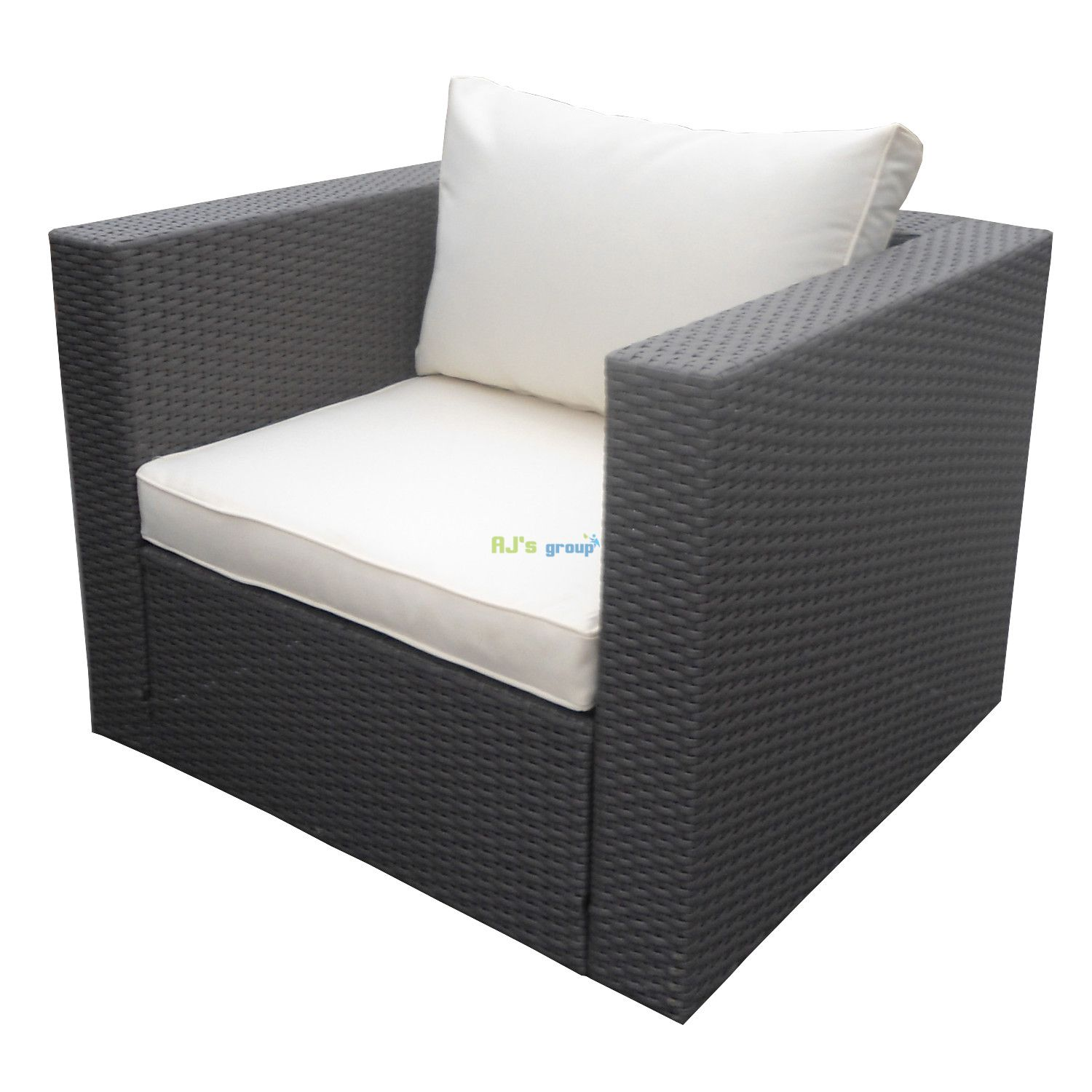 rattan wicker garden patio set jamaica anthracite outdoor. Black Bedroom Furniture Sets. Home Design Ideas