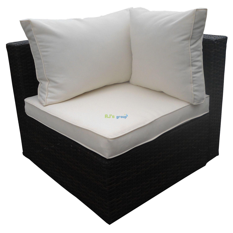 rattan wicker garden patio set jamaica anthracite outdoor. Black Bedroom Furniture Sets. Home Design Ideas