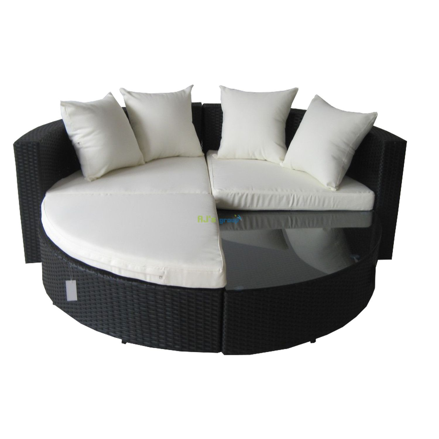 gartenmobel rattan lounge insel. Black Bedroom Furniture Sets. Home Design Ideas
