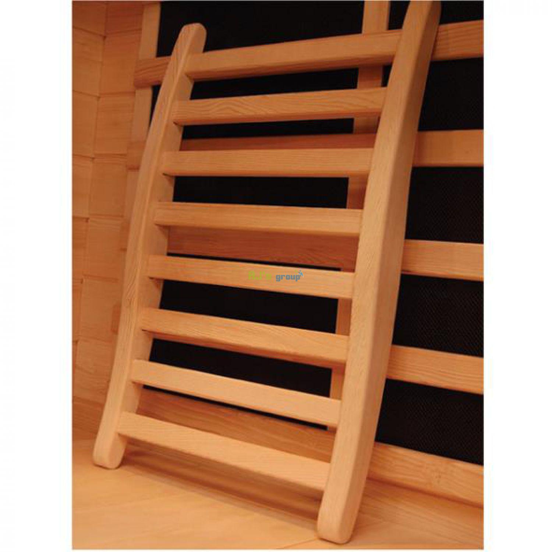 ergonomische r ckenlehne sauna infrarotkabine w rmekabine s. Black Bedroom Furniture Sets. Home Design Ideas